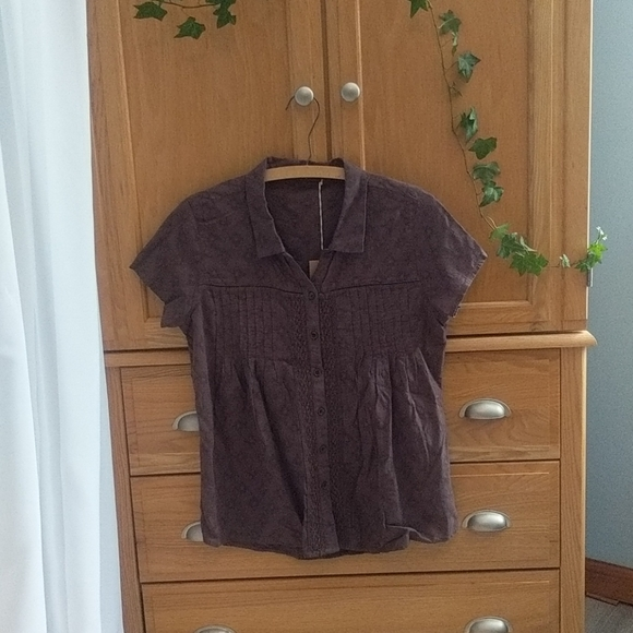 Prana Katya Button Top